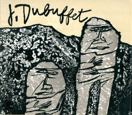 Lithograph Dubuffet - Introduction à son oeuvre (par James Fitzsimmons)