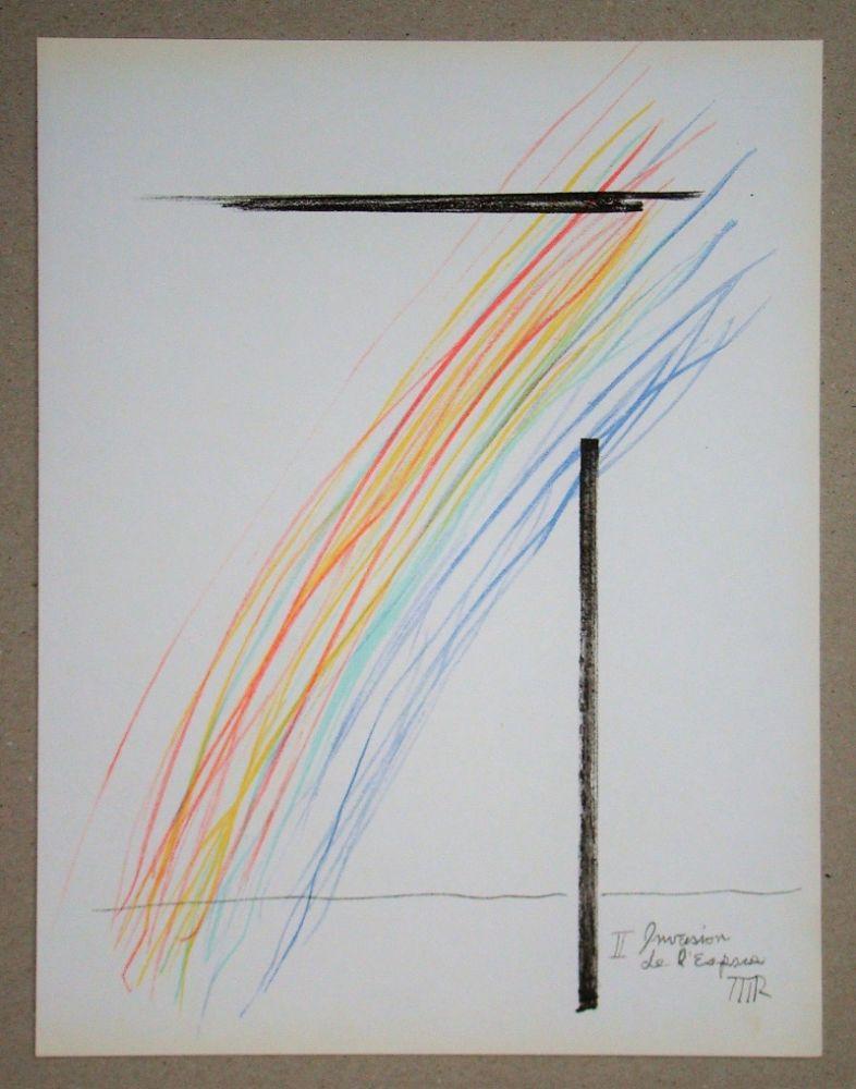 Lithograph Ray - Invasion de l'espace