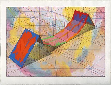 Lithograph Davis - Invert Span