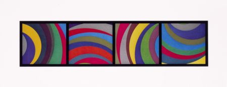 Aquatint Lewitt - Irregular Arcs From Four Side