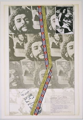 Screenprint Tilson - Is this Che Guevara II?