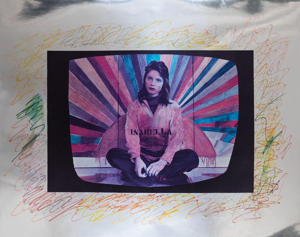 Screenprint Angeli - Isabella Rossellini