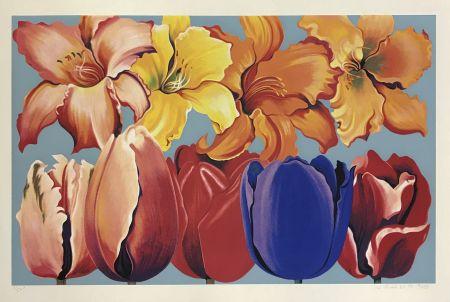 Screenprint Nesbitt - ISLAND OF FLOWERS