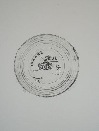 Engraving Favier - Israel