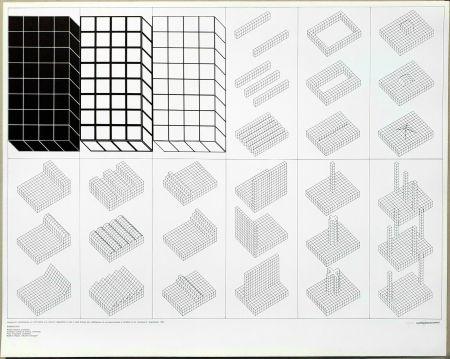 Lithograph Superstudio - Istogrammi
