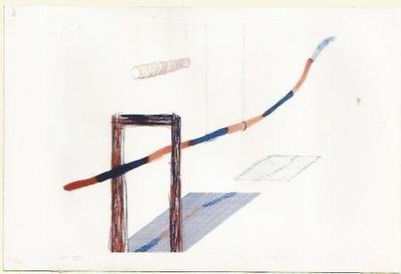 Etching Hockney - It picks it's away