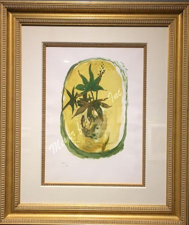 Lithograph Braque - Ivy