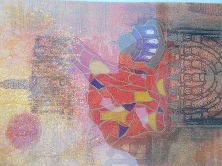 Etching Engel - Jérusalem II