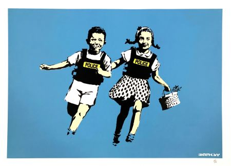 Screenprint Banksy - JACK AND JILL