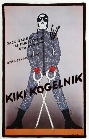 Poster Kogelnik - Jack Gallery (Scissors)