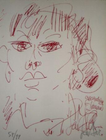 Lithograph Paul  - Jacqueline Danan