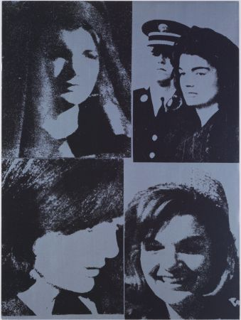 Screenprint Warhol - Jacqueline Kennedy III, 1966