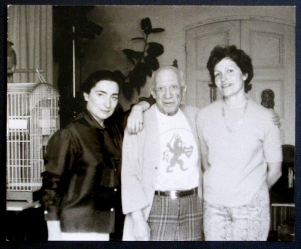 Photography Picasso - Jacqueline, Picasso et Gilberte Brassai (