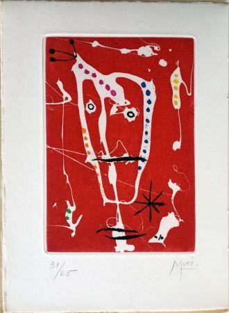 Illustrated Book Miró - Jacques Dupin : LES BRISANTS (1958).
