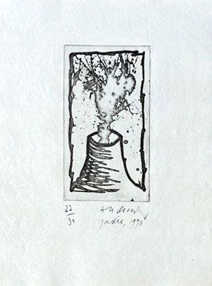 Etching Alechinsky - Jadis