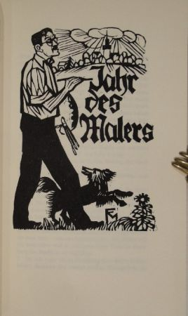 Illustrated Book Felixmuller  - Jahr des Malers