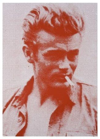 Screenprint Young - James Dean