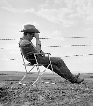 Photography Worth - James Dean seated
