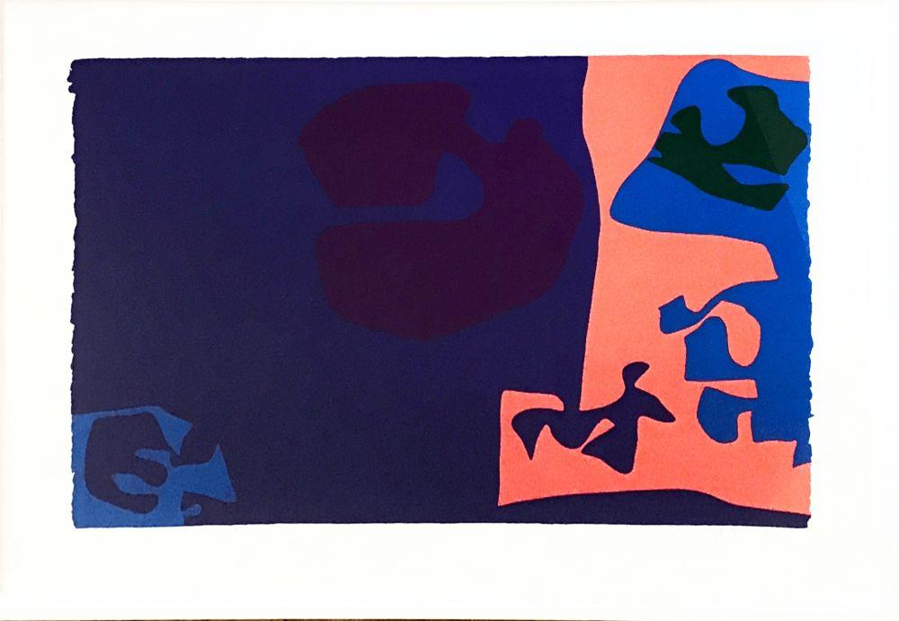 Screenprint Heron -  January 1973: Plate 18