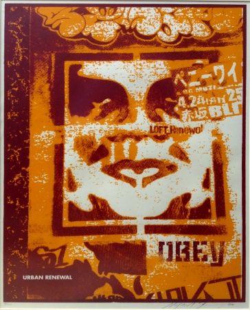 Screenprint Fairey - Japan Stencil