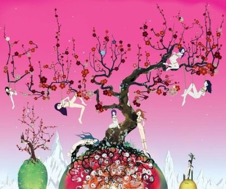 Lithograph Chiho - Japanese Apricot 3