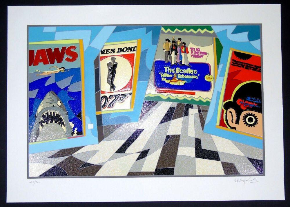 Screenprint Nespolo - Jaws