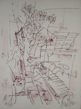 Lithograph Paul  - Jazz