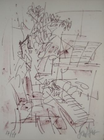 Lithograph Paul  - Jazz