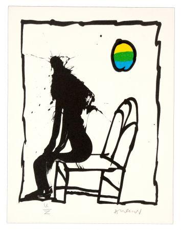 Lithograph Alechinsky - Je vous en prie asseyez-vous