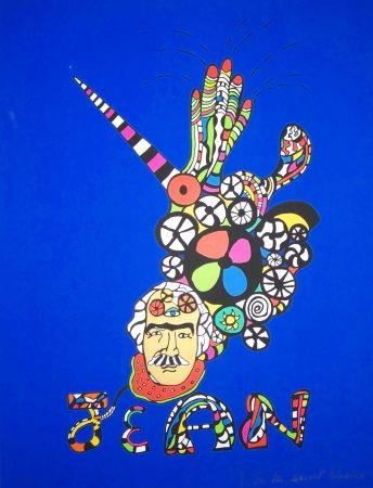 Screenprint De Saint Phalle - Jean