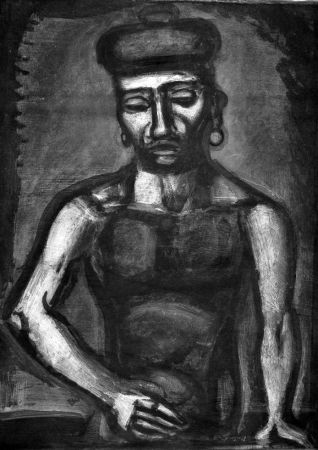 Etching And Aquatint Rouault - Jean-François jamais ne chante Alleluia