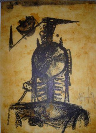 Lithograph Lam - Jean Cassou: vingt-deux poèms
