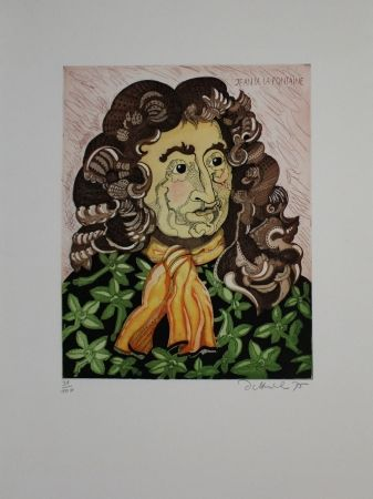 Etching And Aquatint Dittrich - Jean de la Fontaine