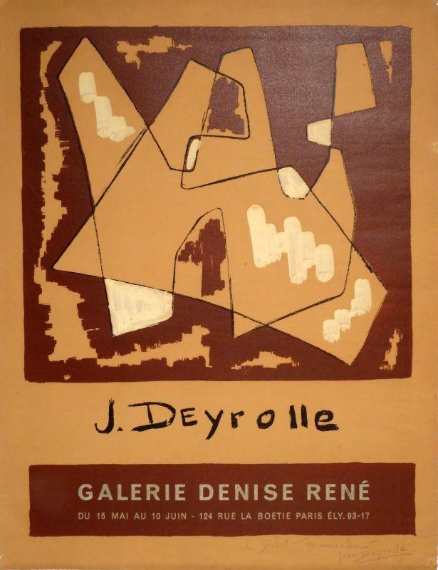 Poster Deyrolle - Jean Deyrolle