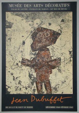 Lithograph Dubuffet - Jean Dubuffet