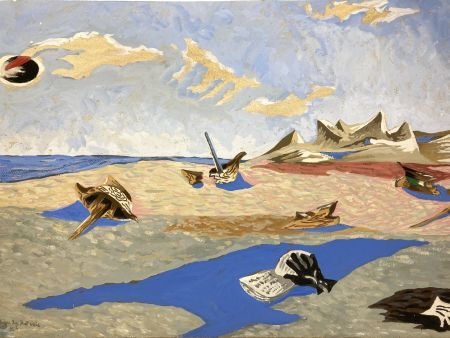 No Technical Lurcat - Jean Lurçat(1892-1966). Apocalypse des Mal-assis N°4. Gouache
