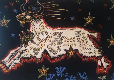 Multiple Lurcat - Jean Lurçat (1892-1966). D'étoiles. Tapisserie. Signée et numérotée.