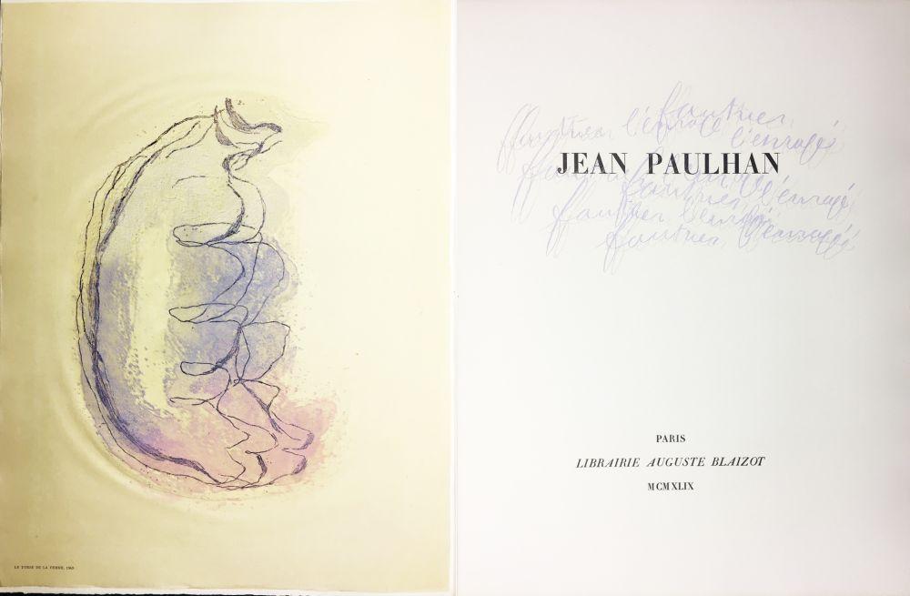 Illustrated Book Fautrier - Jean Paulhan : FAUTRIER L'ENRAGÉ (1949)