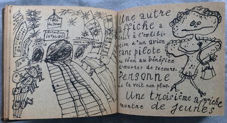 Illustrated Book Dubuffet - Jean PAULHAN : LA MÉTROMANIE ou les dessous de la capitale. Calligraphié et orné de dessins par son ami Jean Dubuffet.