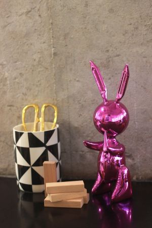 No Technical Koons - Jeff Koons (After) - Balloon Rabbit PINK