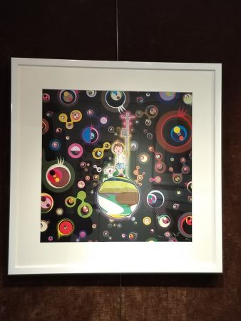 Lithograph Murakami - Jellyfish Eyes