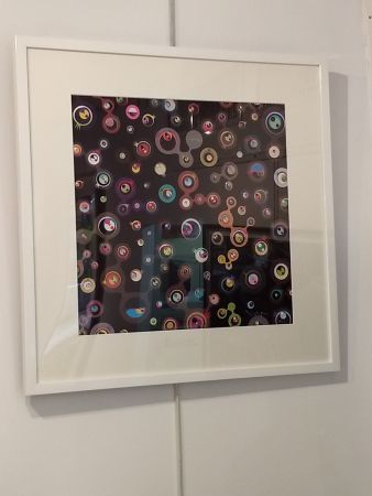 Lithograph Murakami - Jellyfish Eyes black5