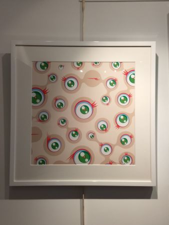 Lithograph Murakami - Jellyfish Eyes Cream