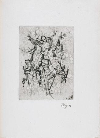 Illustrated Book Bryen - Jepeinsje. Poème et eau-forte de Camille Bryen (1955)