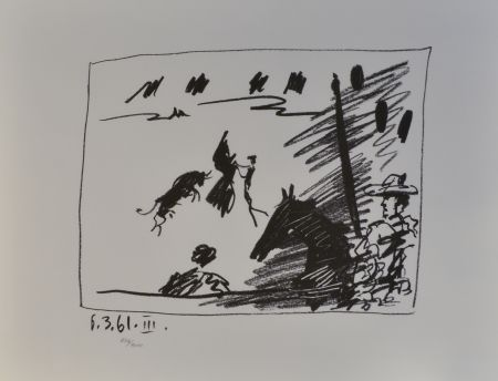 Lithograph Picasso - Jeu de la Cape