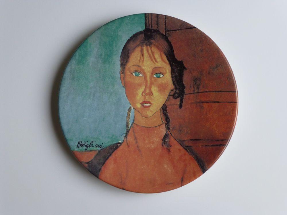 No Technical Modigliani - Jeune fille aux yeux verts
