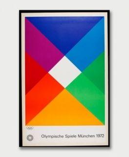 Screenprint Bill - Jeux Olympiques de Munich 1972
