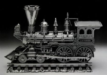 Lithograph Koons - Jim Beam - Jb Turner Engine