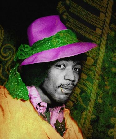 Photography Mankowitz - Jimi with Hat