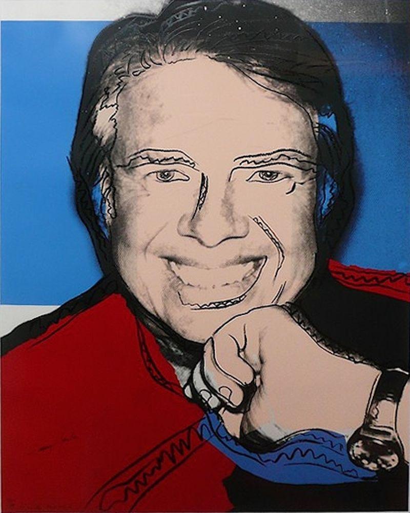 Screenprint Warhol - Jimmy Carter II (FS II.151)